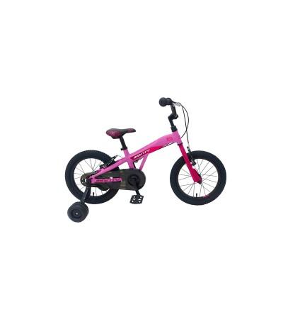 """Bicicleta MONTY 103 16"""" rosa"""