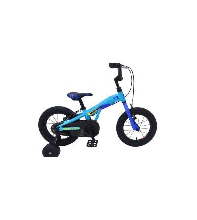 "Bicicleta MONTY 102 14"" azul"