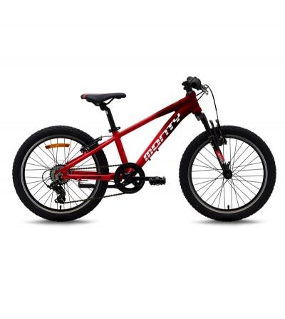 """Bicicleta MONTY KX5 20"""" roja"""